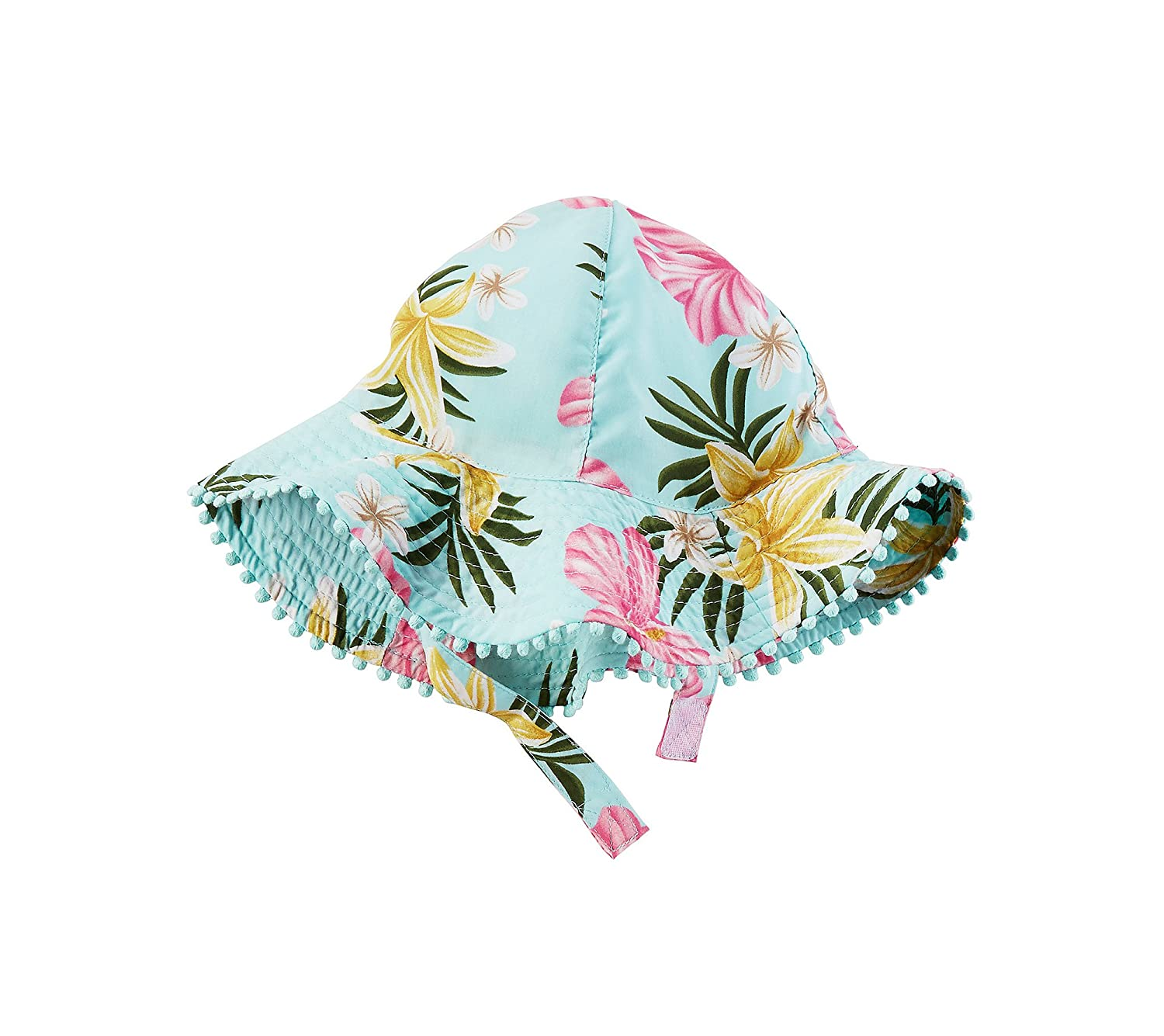 Carters Baby Girls Floral Sun Hat