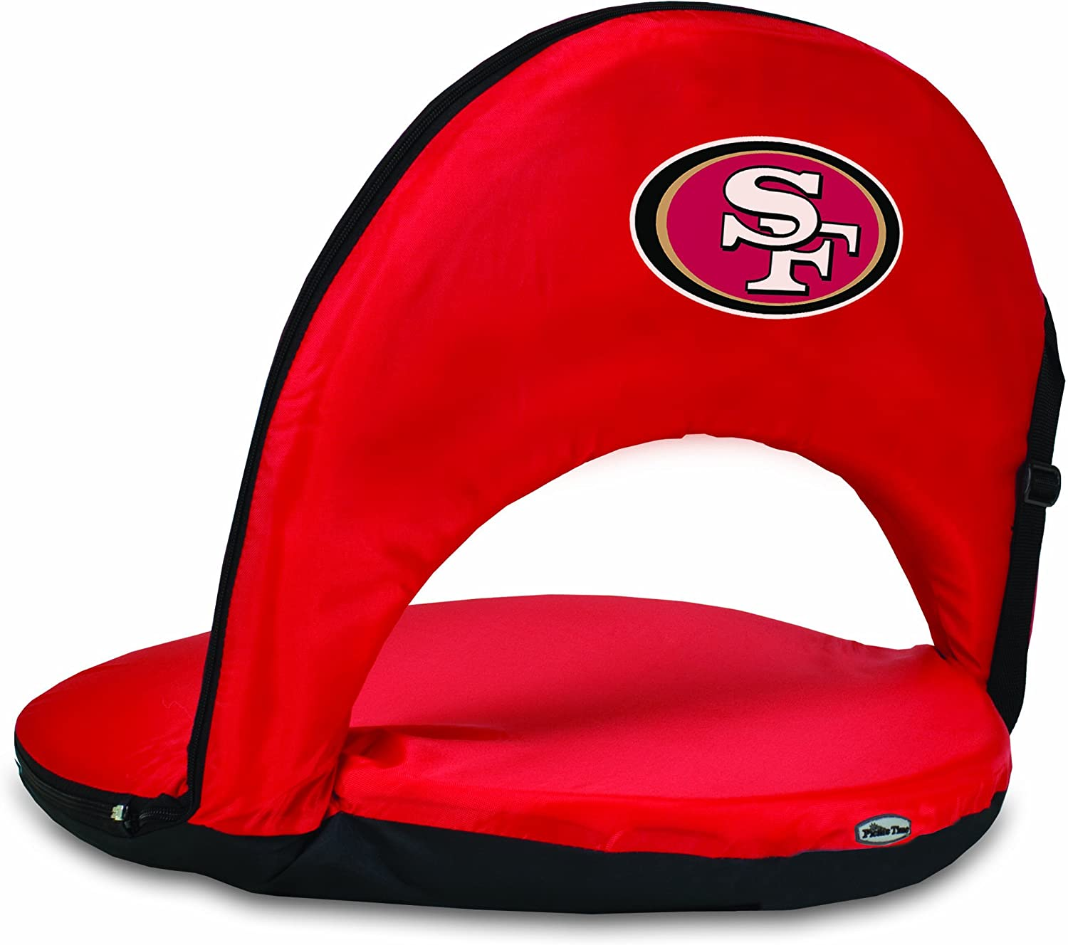 Red NFL San Francisco 49ers Oniva Portable Reclining Seat