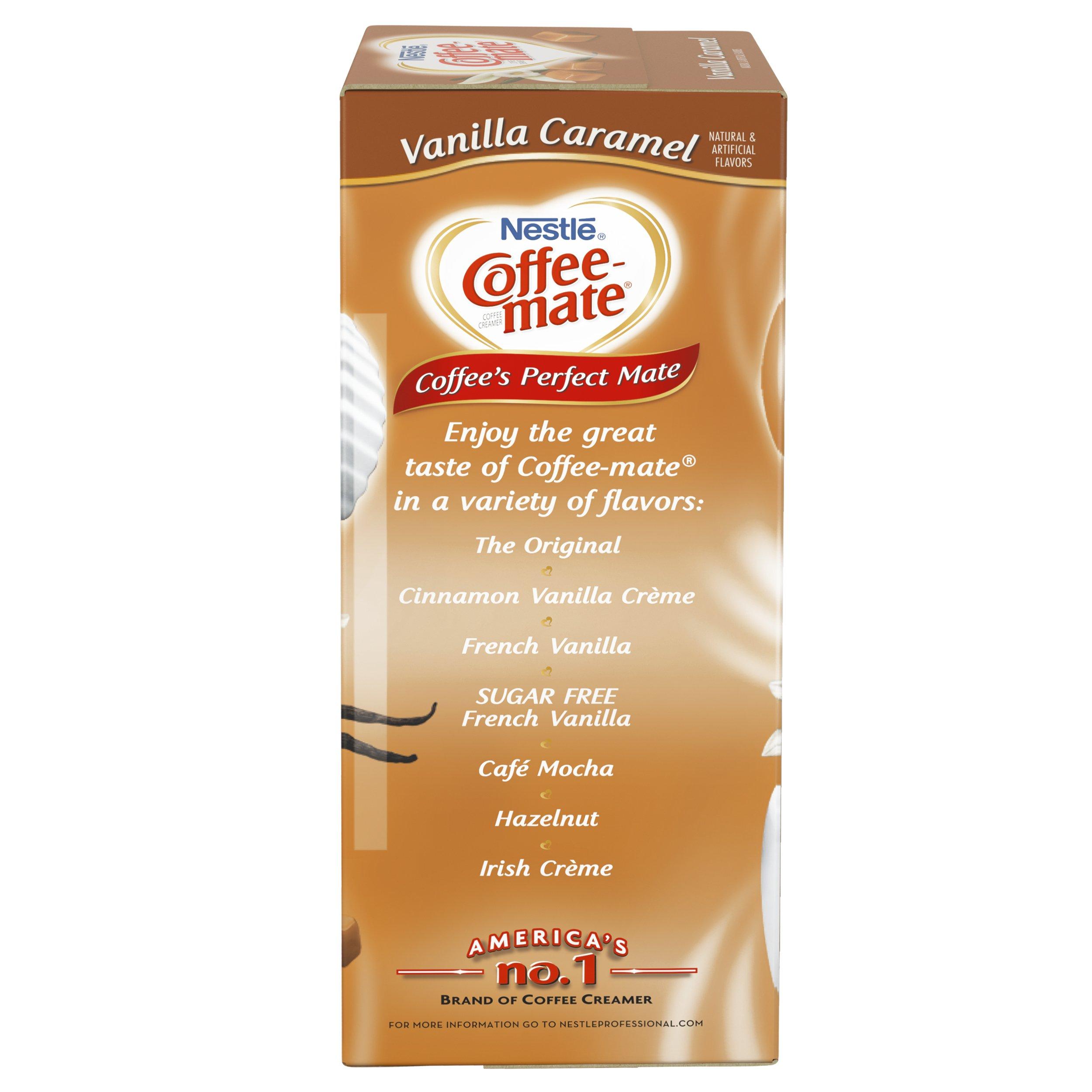 NESTLE COFFEE-MATE Coffee Creamer, Vanilla Caramel, liquid creamer singles, Pack of 50 by Nestle Coffee Mate (Image #5)