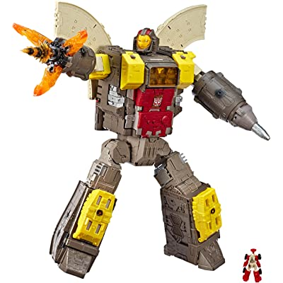 Transformers Toys Generations War for Cybertron Titan WFC-S29 Omega Supreme Action Figure - Converts to Command Center - Adults and Kids Ages 8 and Up, 2-feet: Toys & Games