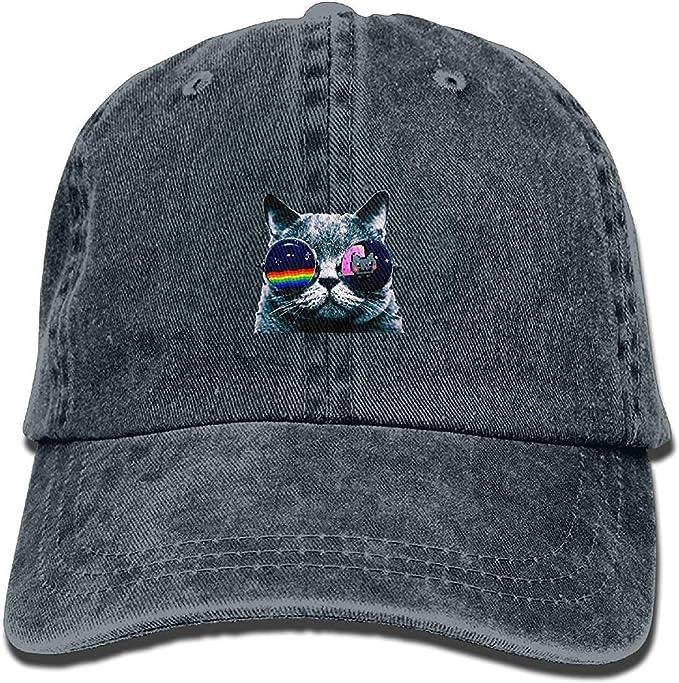 Gorra Trucker Cap Gorra béisbol Transpirable Cool Cat with Glasses ...