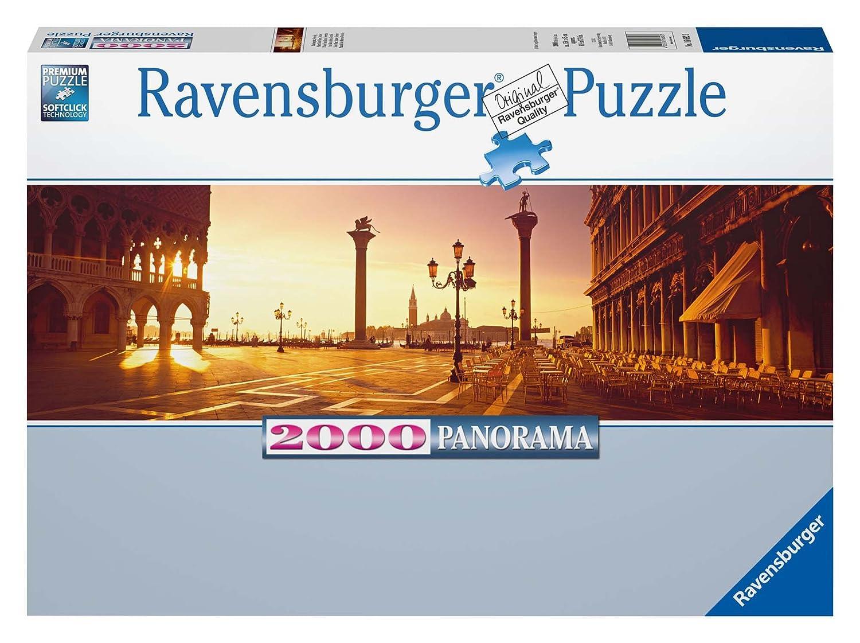 Ravensburger 16692 - Markusplatz, Venedig - 2000 Teile Superpanorama-Puzzle