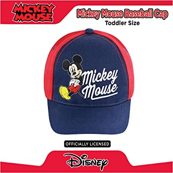 Kid Toddler Boy Girl Cartoon Mickey Mouse With Ear Baseball Cap Snapback Sun Hat