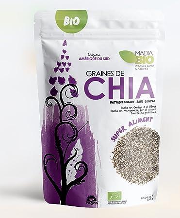 Amazon.com: Semillas de Chía, 250 g – 100% orgánico ...