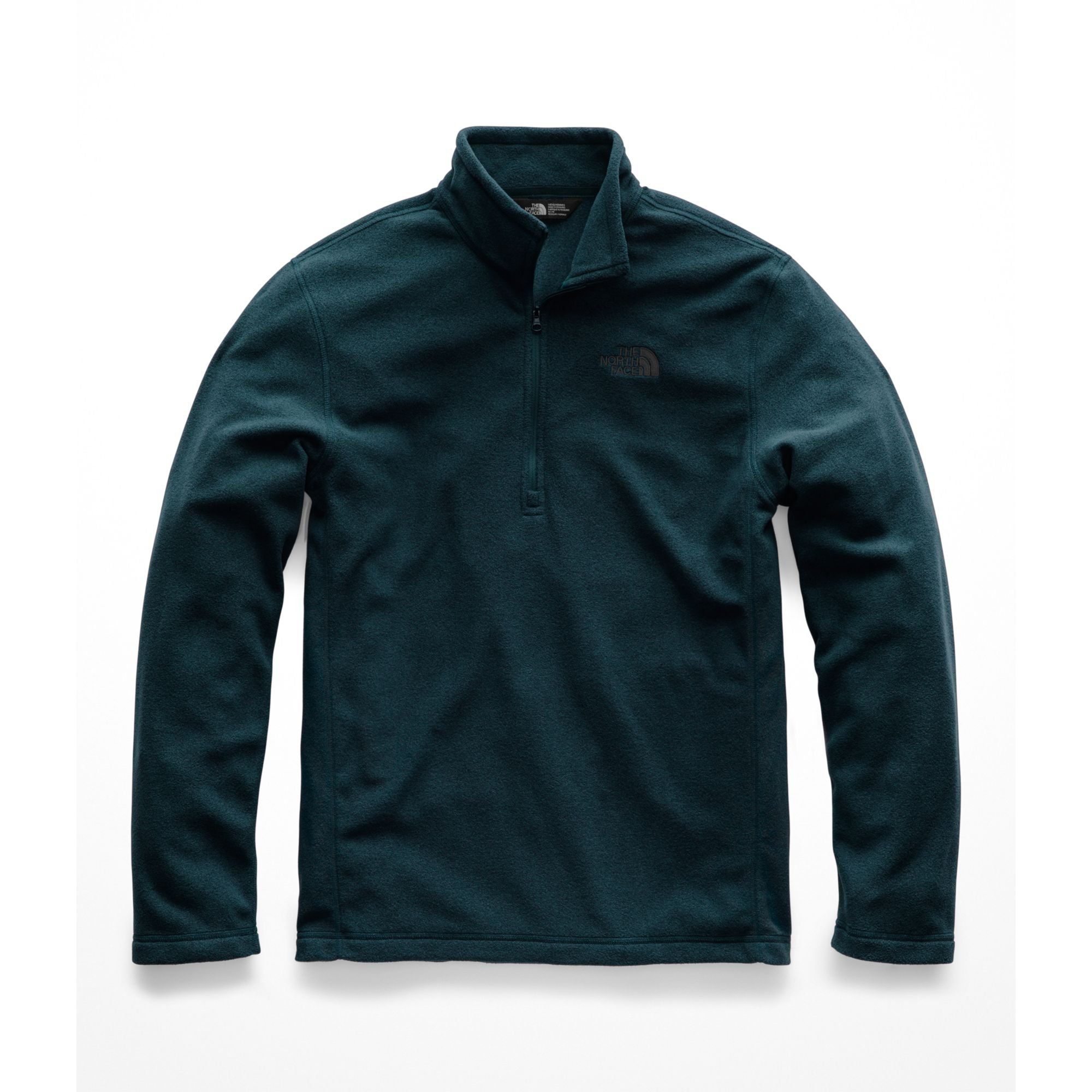 The North Face Men's TKA 100 Glacier 1 & 4 ZIP - Kodiak Blue - L