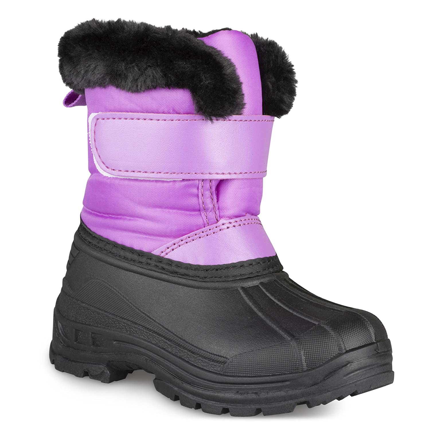 354e85da54be EASY TO PUT ON - Slip on style with hook and loop closure makes it easy for  little kids to put on their own boots and get out the door quickly