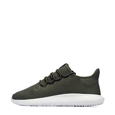 size 40 38b5b 49a97 adidas Originals Tubular Shadow, Baskets Mode pour Homme Olive Cargo White  - - Olive