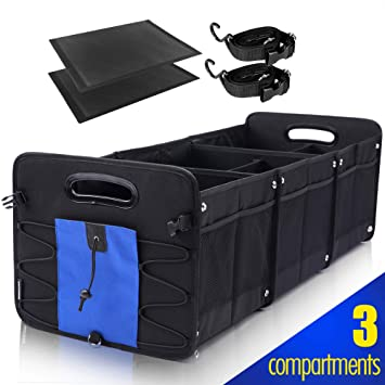 Amazon.com: GEEDAR Organizador de maletero para coche, SUV ...