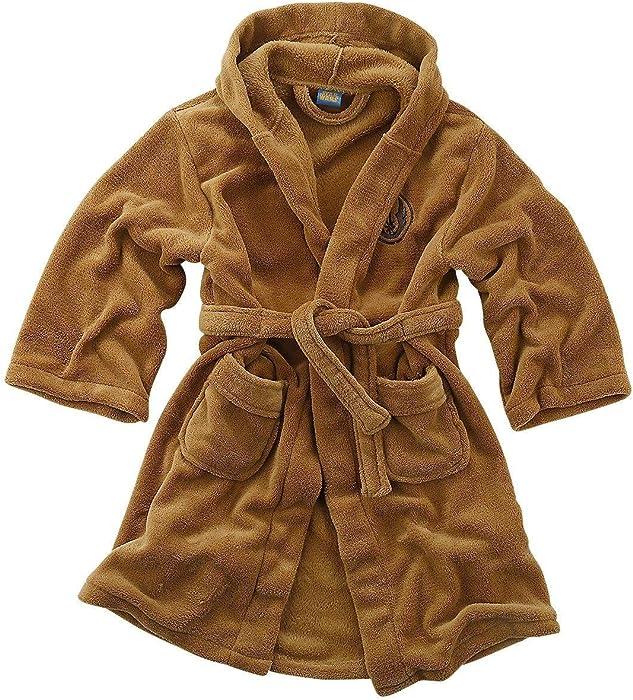 f5ad08b36b Amazon.com  Star Wars Jedi - Fleece Robe Tan - Kids Small ...
