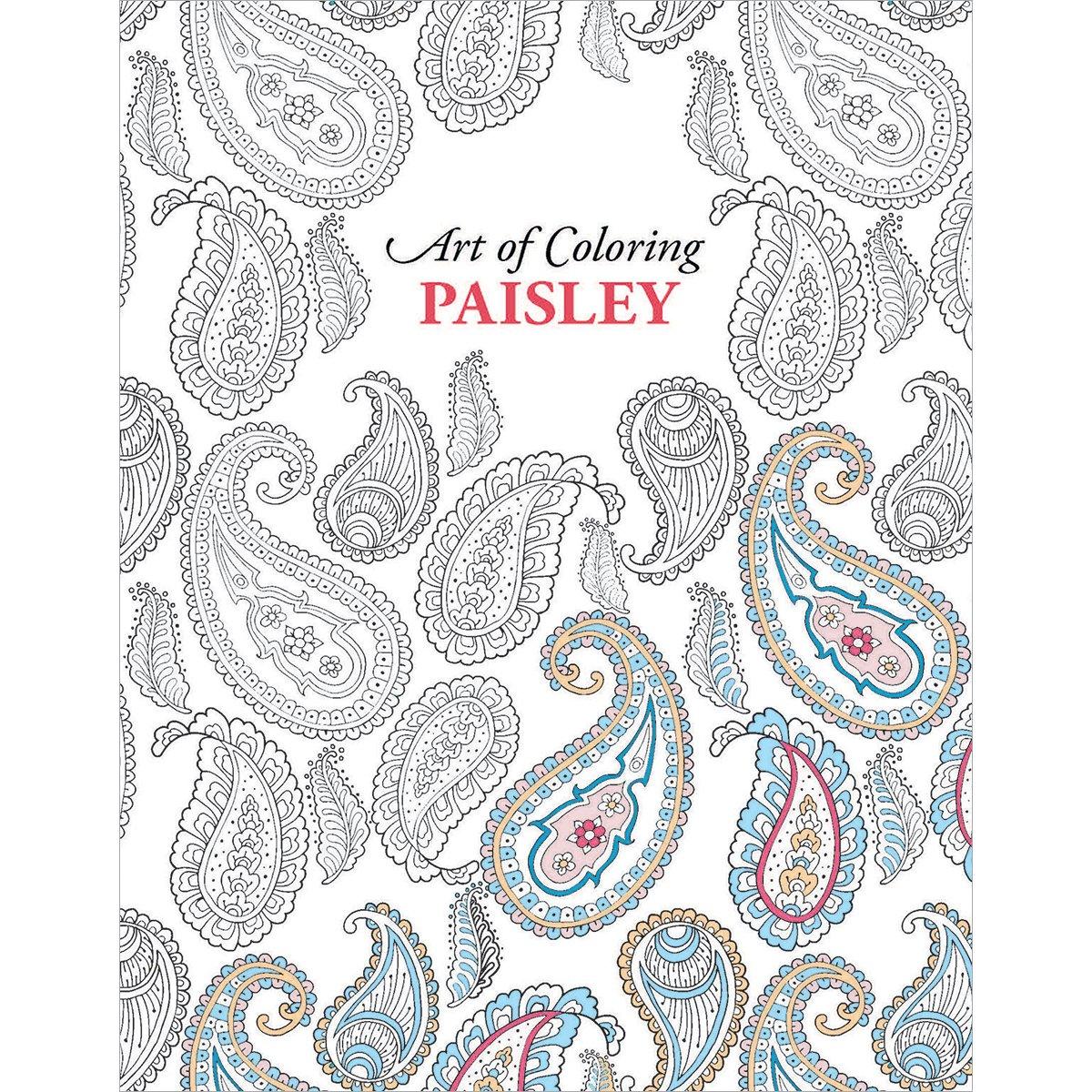 Leisure Arts Ocio Arts-Art de Colores Paisleys: Amazon.es: Hogar