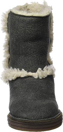 El Naturalista N5054 Doble Faz-Lux Suede Kaki/Rice Field, Botas Slouch para Mujer