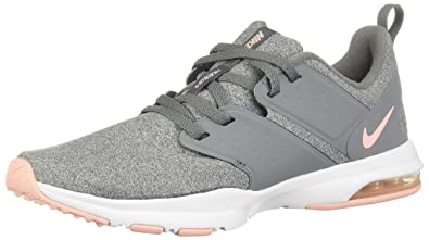 new arrival 9a3dd b52e6 Nike WMNS Air Bella TR Chaussures de Running Compétition Femme, Multicolore  (Cool Grey