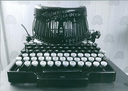 Vintage foto de una foto de Vintage de Columbia Bar Lock máquina de escribir por Charles