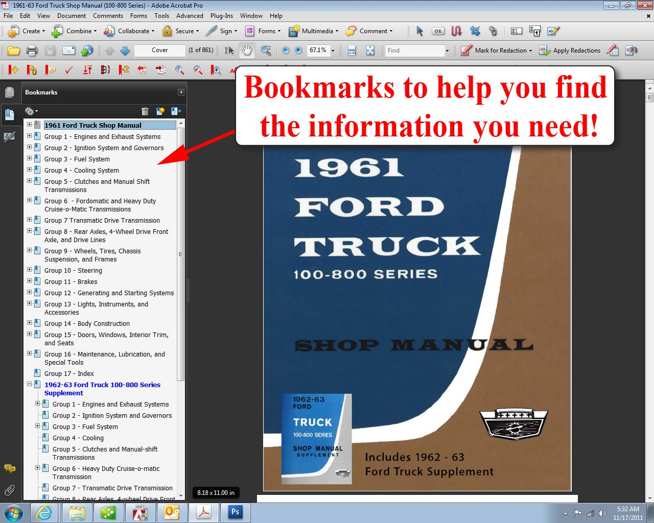 1961 63 ford truck shop manual ford motor company david e leblanc 1961 63 ford truck shop manual ford motor company david e leblanc 9781603710701 amazon books fandeluxe Images
