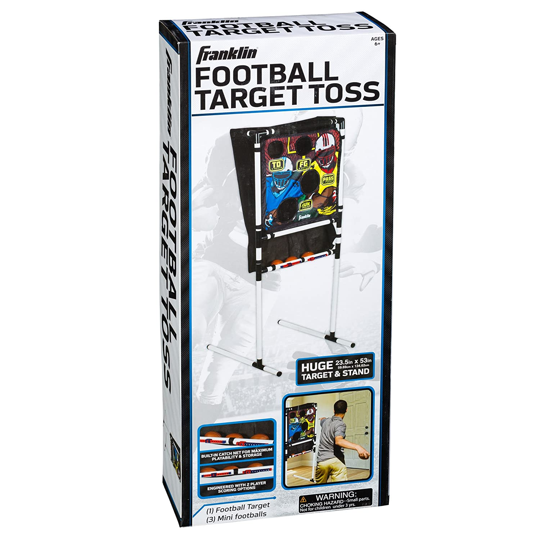 amazon com franklin sports football target toss sports u0026 outdoors