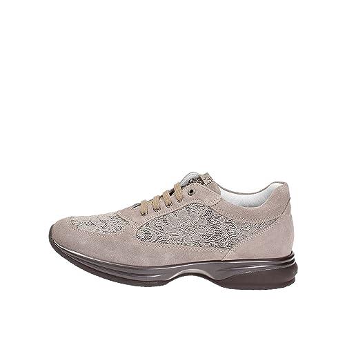 liu jo - Zapatillas para niña Beige Taupe 20.5: Amazon.es: Zapatos y complementos