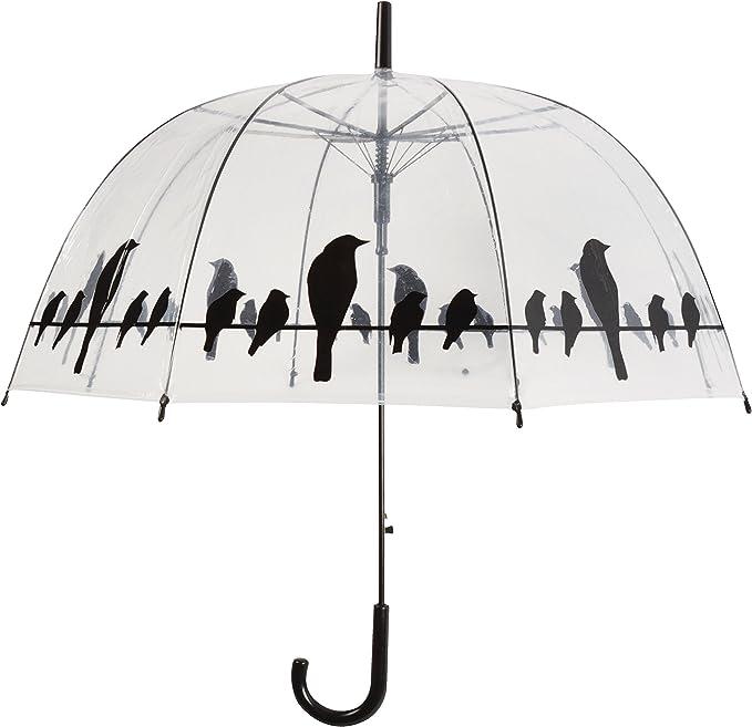 Parapluie Chat Coquin Transparent Cloche Dome FemmeOuverture Automatique Cadeau