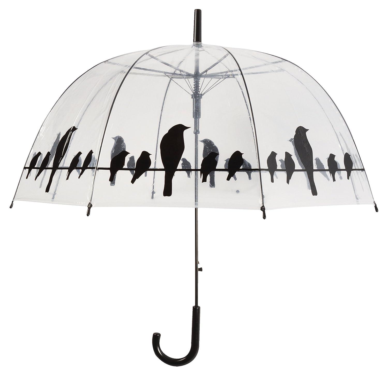 ESSCHERT DESIGN TP166/p/ájaros en un Alambre Claro Paraguas