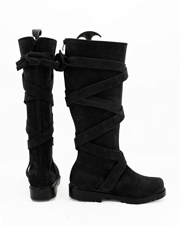 Game Of Thrones Season 7 Daenerys Targaryen Cosplay Shoes Boots Black