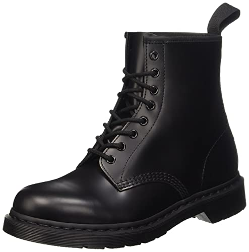 Dr. Martens Unisex-Adult Monochrome 1460 Black Lace Up Boot 14353001 3 UK