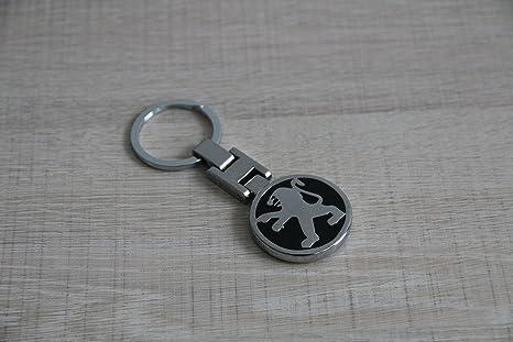 Llavero Logo Peugeot Handmate acero pulido de llavero ...