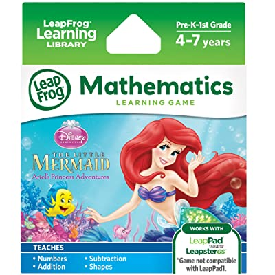 LeapFrog Disney The Little Mermaid Learning Game (for LeapPad Platinum, LeapPad Ultra, LeapPad2, LeapPad3, LeapsterGS Explorer): Toys & Games