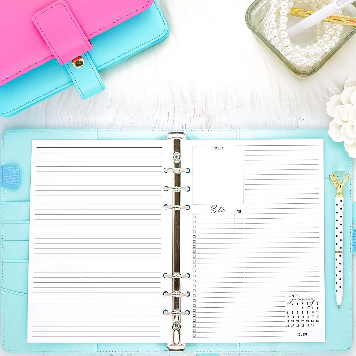 Amazon.com: 2020 Dated Weekly Planner Inserts | Refill Pages ...