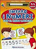 Imparo i numeri con il libro lavagna. Scrivo, cancello, riscrivo. 5-6 anni. Ediz. illustrata