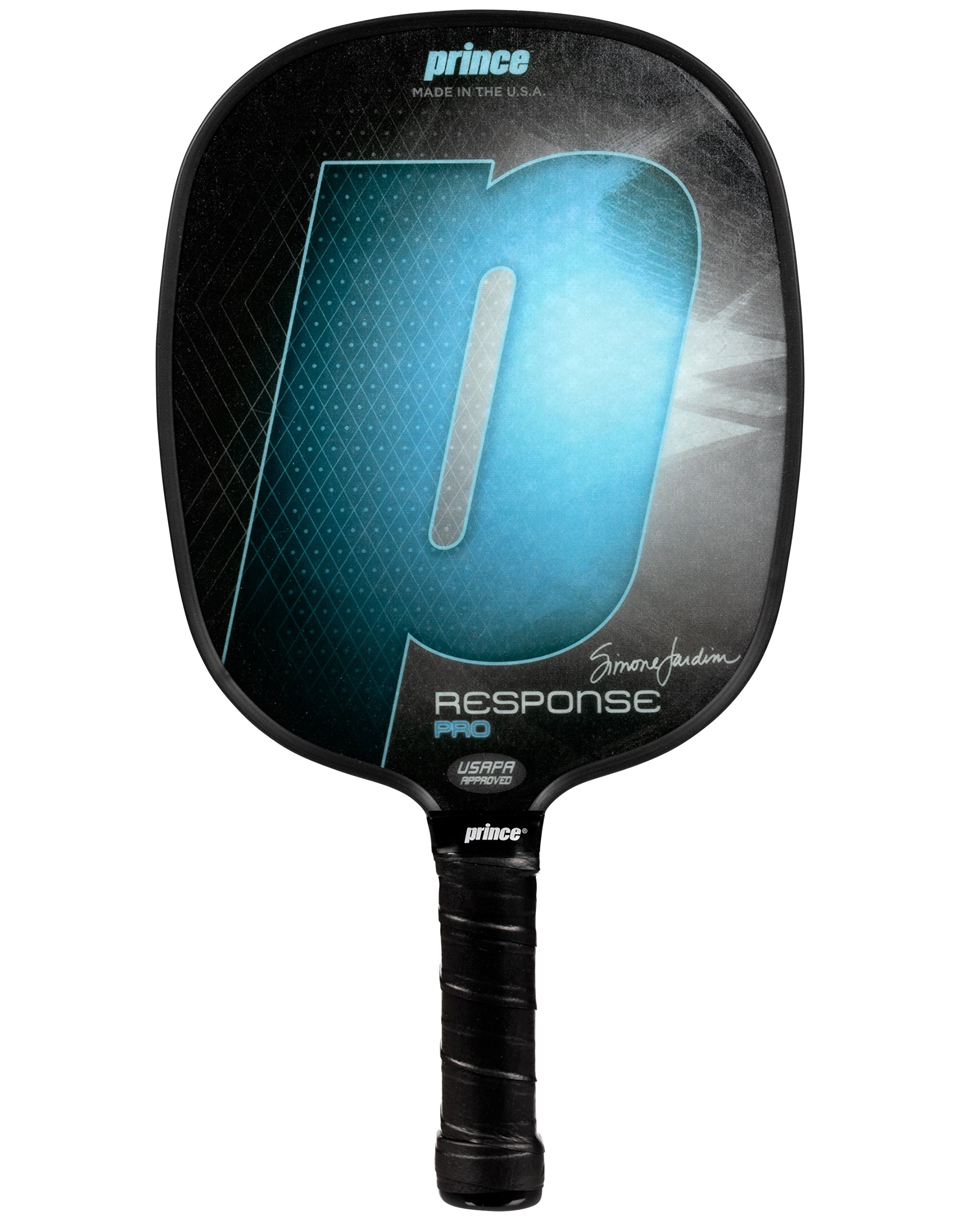 Prince Response Pro Pickleball Paddle | Blue | 4 1/8'' Small Grip | Light Weight