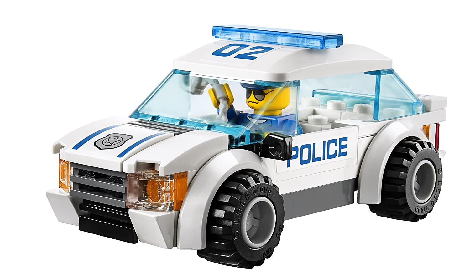 amazon com lego city police 60042 high speed police chase toys