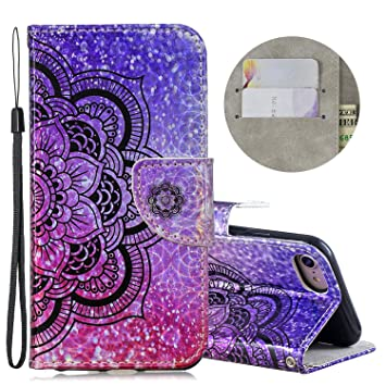 EuCase Funda iPhone 6s Libro Flip PU Cuero Carcasa iPhone 6 ...