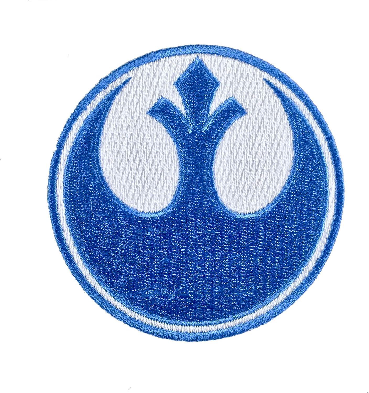 Super6props Star Wars Rebel Alliance Blue Squadron Gesticktes Eisen Auf Patch Crew Uniform Patch Für Cosplay Kostüm Und Kostüm 75mm Küche Haushalt