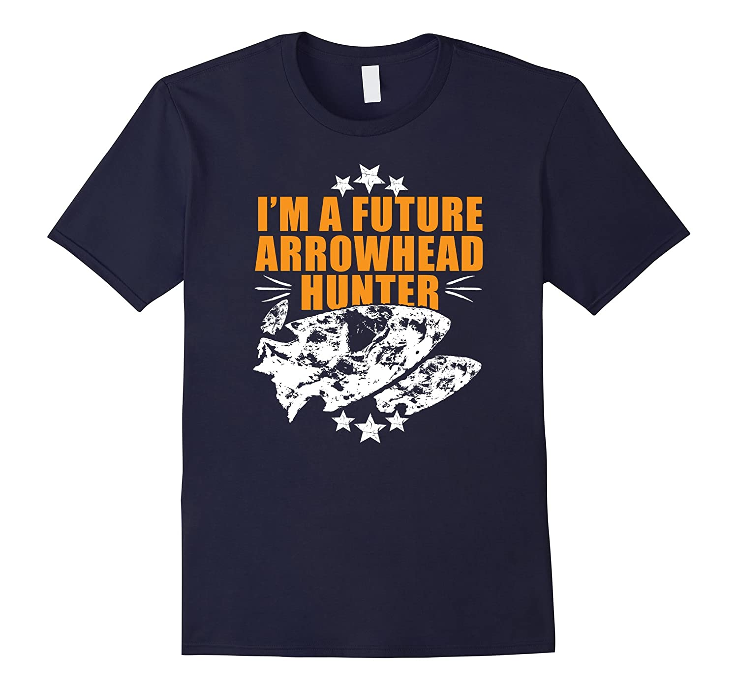 Arrowhead tshirt, perfect for budding arrowhead collectors-FL
