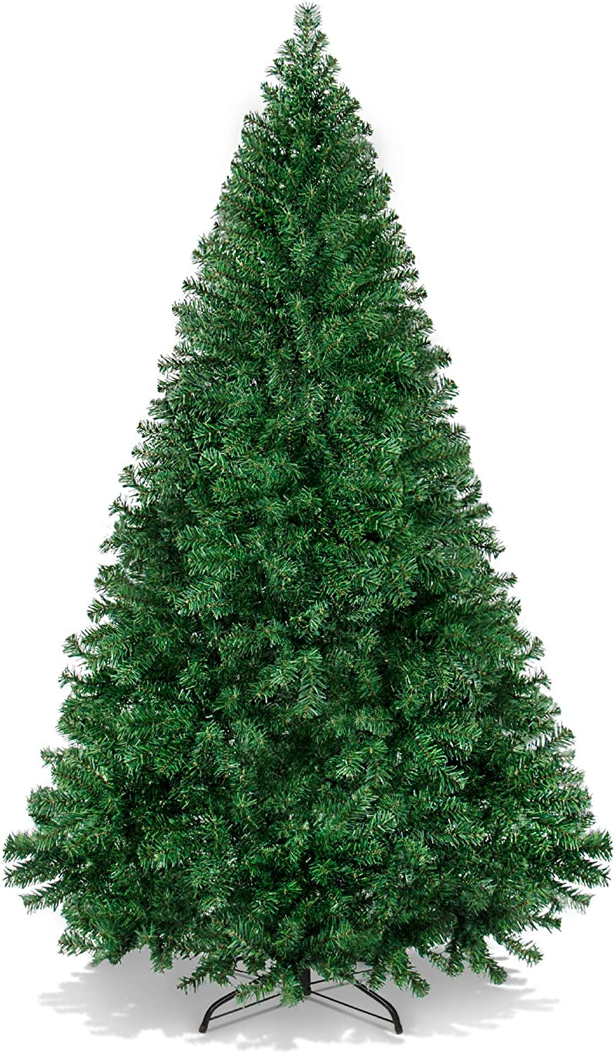 Best Choice Products 6ft Premium Hinged Artificial Holiday Christmas Pine Tree For Home Office Party Decoration W 1 000 Branch Tips Easy Assembly Metal Hinges Foldable Base Green Home Kitchen Amazon Com