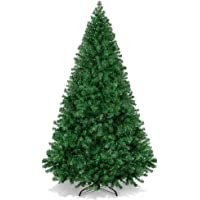 Best Choice Products 6ft Premium Hinged Artificial Holiday Christmas Pine Tree for Home, Office, Party Decoration w/ 1…