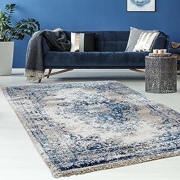 Hochwertiger Teppich Flachflor Orientalisch Klassisch Ornamente ...