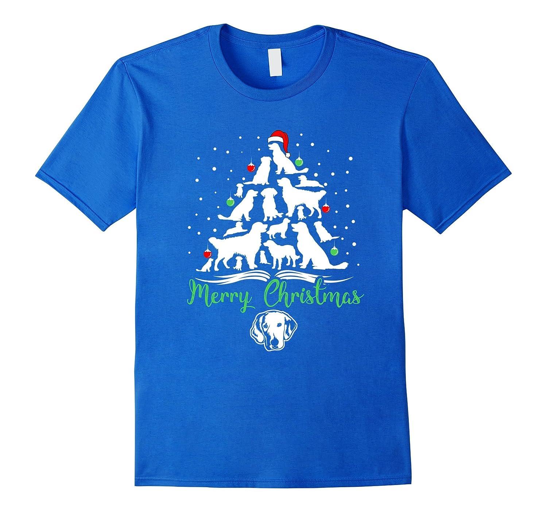 3e49b1c0 Golden Retriever Christmas Tree Merry Christmas Gift T-shirt-ANZ ...