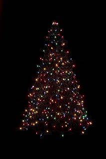 4u0027 Crab Pot Christmas Tree with 300 Multicolor Incandescent Mini Lights & Amazon.com : 2u0027 Crab Pot Tree 80 Multi-Color LED Lights : Garden ...