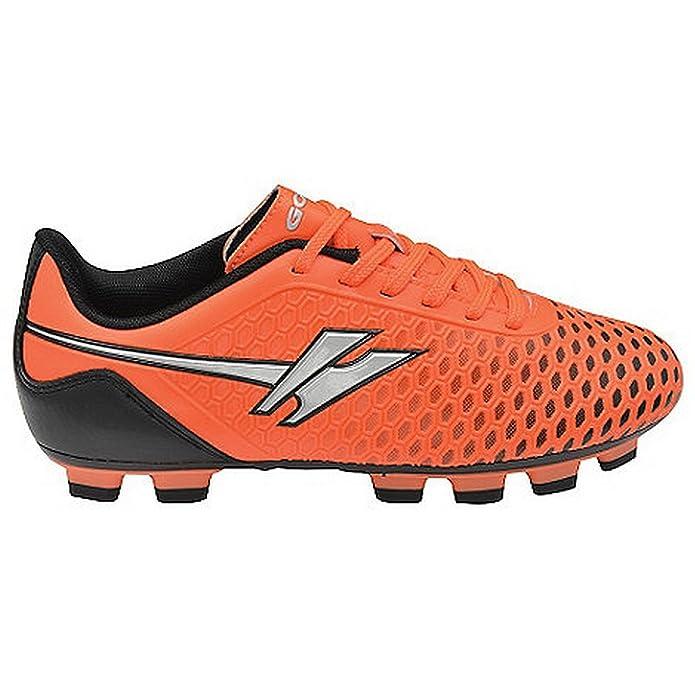 Gola Sport - Botines de fútbol Modelo Boys Ativo 5 Ion Blade para niños/jóvenes (37 EU/Blanco/Lima): Amazon.es: Zapatos y complementos