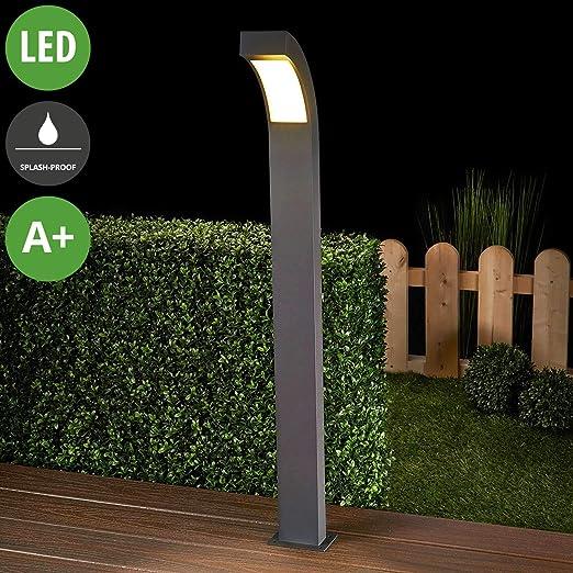 LED Eclairage Exterieur \'Lennik\' (Moderne) en Noir en ...