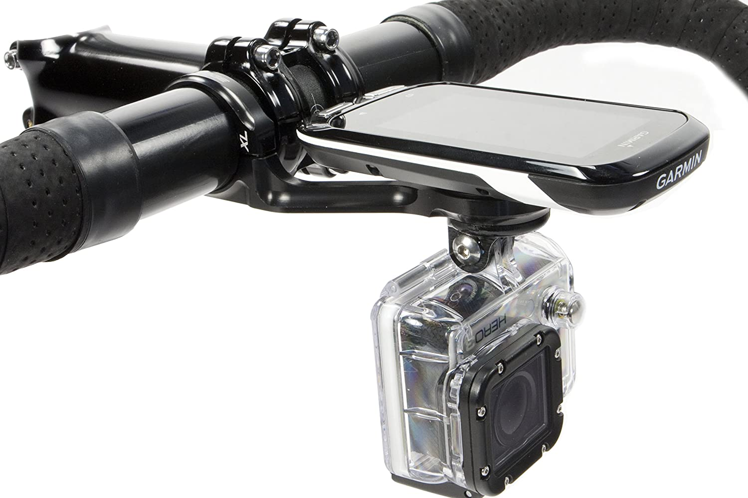 K Edge Combo Mount For Garmin Edge Computer And Gopro