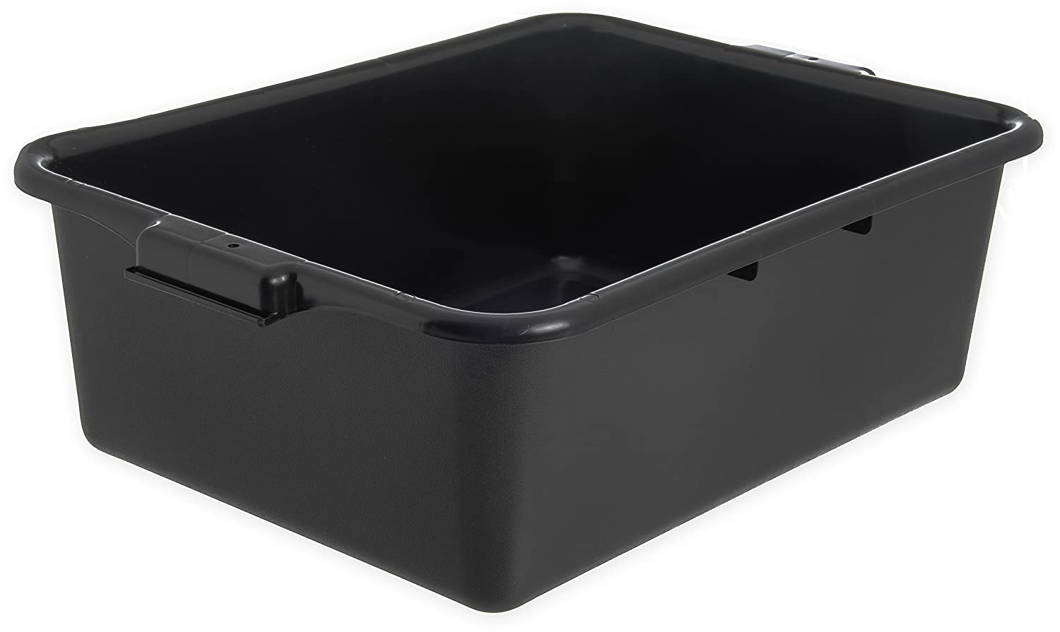 Carlisle N4401109 Comfort Curve Ergonomic Wash Basin Tote Box, 7' Deep, Green (Pack of 12)