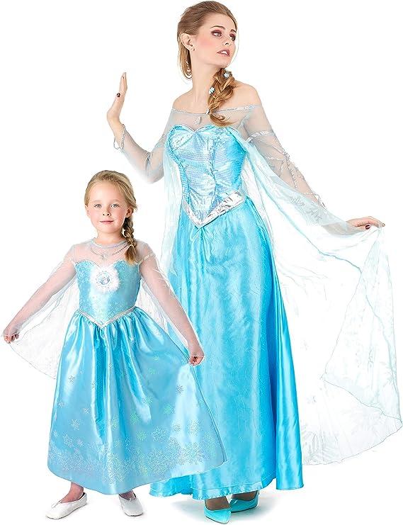 Generique - Disfraz de Pareja Frozen Madre e Hija: Amazon.es ...