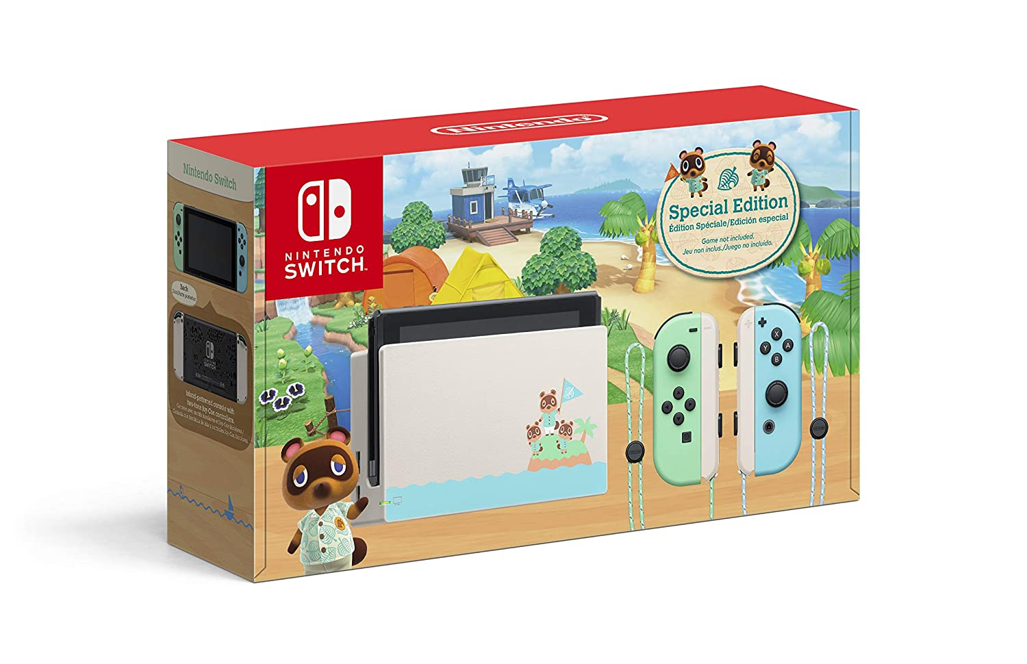 Amazon Com Nintendo Switch Animal Crossing New Horizons