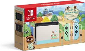 Nintendo Switch Console, Animal Crossing: New Horizon Special Edition