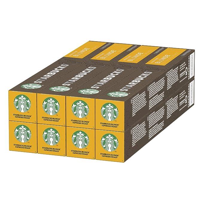 STARBUCKS BLONDE Espresso Roast de NESPRESSO Cápsulas de café de ...
