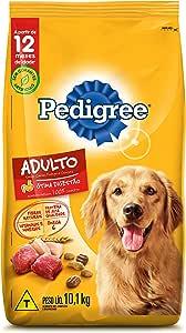 Ração Pedigree Carne Frango e Cereais Para Cães Adultos Raças Médias e Grandes 10,1 kg