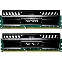 Patriot 16GB(2x8GB) Viper III DDR3 1600MHz (PC3 12800) CL9 Desktop Memory with Black Mamba Heatsink - PV316G160C9K