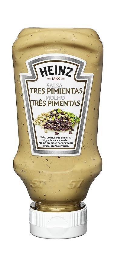 Heinz Salsa Tres Pimientas - 220 ml