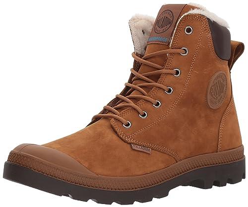 Palladium Adults  Pampa Sport Cuff Wps Desert Boots Brown  Amazon.co ... c7c9e659c08